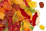 Fruchtsaft Schwäbische Mischung, Fruchtgummi in typisch schwäbischen Formen, Maultaschen, Auto, Fernsehturm, Wurst usw, im 500g Beutel