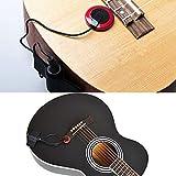 Silenceban Contact Microphone Piezo Pickup Violin Microphone Pickup Banjo Ukulele Mandolin Guitar Microphone