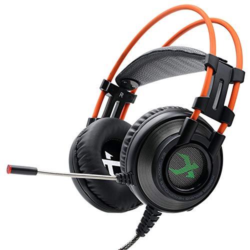 OPAKY Gaming-Kopfhörer mit Mikrofonkopfhörer,für iPhone, iPad, Samsung, Huawei,Tablet usw.