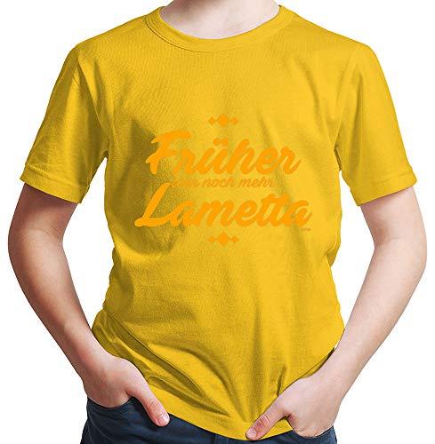 HARIZ  Jungen T-Shirt Früher War Noch Mehr -