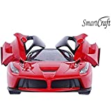 Smartcraft Remote Controlled Racing Car, R/c Car, Luxury Car with Opening Doors - Multi Color , Remote Control Luxurious Racing Car