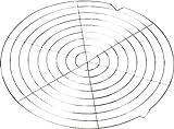 MM Spezial 100077 Kuchenauskühler, Edelstahl, silber, 30 x 10 x 5 cm