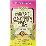 Only Natural Nutritional Supplement, Nopal Cactus Tea, 20 Count