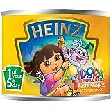 Heinz Dora Las Formas Explorador Multigrano De Pasta En Salsa De Tomate Con Ácidos Grasos Omega 3 (205g)