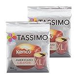 Tassimo Americano Grande XL, Aromatische & Professionelle Röstung, Kaffee, Kaffeekapsel, Röstkaffee, 32 Portionen
