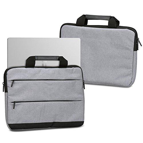 UC-Express Laptophülle Schutzhülle für Odys Trendbook 14 Pro 14 Zoll Sleeve Tasche Notebooktasche Schutzcase, Farbe:Grau