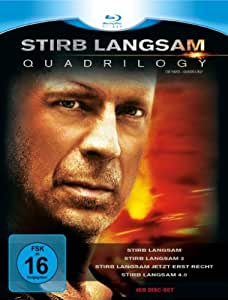Stirb Langsam - Quadrilogy 1-4 [Blu-ray]