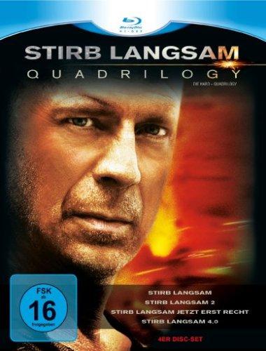 Bild von Stirb Langsam - Quadrilogy 1-4 [Blu-ray]