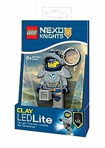 LEGO - 31251 Nexo Caballeros Arcilla Mini Linterna y Llavero, 7,6 cm