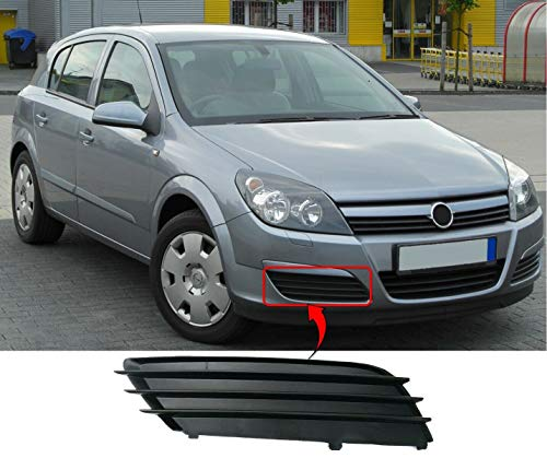 VAUXHALL ASTRA H ESTATE 2004-2007 Front Bumper Grille With Spotlight Holes R H