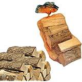 Sacco 15kg di legna da ardere 100% faggio in tronchetti per camino stufa 25 cm