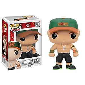 POP WWE John Cena Green Cap Vinyl Figure