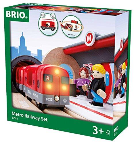 Brio 33513000 - BRIO Metro Bahn Set