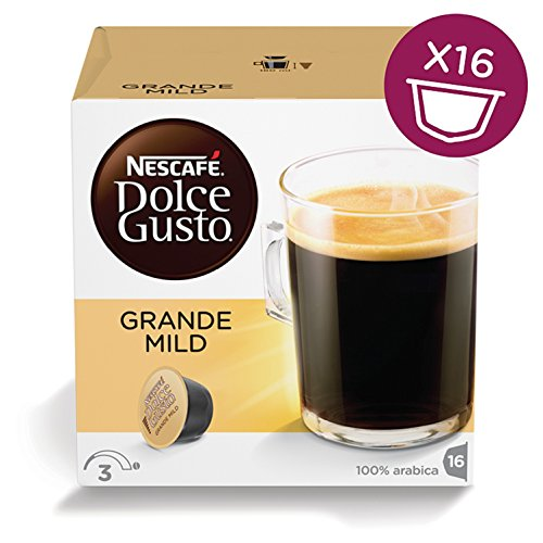 Shop for Nescafé Dolce Gusto Grande Mild, Pack of 3 (Total 48 Capsules, 48 servings) by Nestle