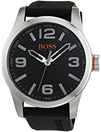 Hugo Boss Orange 1513350 - Reloj analógico de pulsera para hombre, correa de silicona