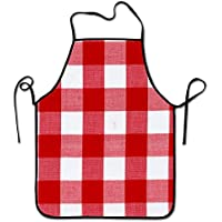 Estrange Watercolors Trees Animals Leaves Adjustable Strap Bib Aprons For Kitchen Restaurant Cooking-Durable and