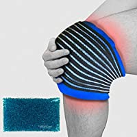 Reusable Hot Heat Ice Gel Bead Cold Pack | Knee