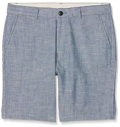Lee Herren Shorts Chino, Blau (Chambray WU), 42 (Herstellergröße: 29)