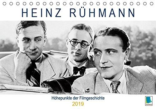 Heinz Rühmann: Höhepunkte der Filmgeschichte (Tischkalender 2019 DIN A5 quer): Heinz Rühmann: Es war einmal ... (Geburtstagskalender, 14 Seiten ) (CALVENDO Kunst)