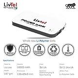 Livtel Liv-1006 Li-Polymer Power Bank (W...