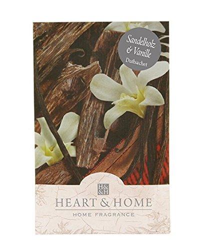 Heart & Home Duftsachet Sandelholz & Vanille, 100 ml