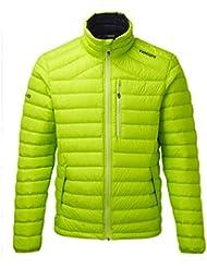 TOG 24–Zenon Chaqueta de plumas para hombre–Verde claro–Male, hombre, color verde, tamaño medium