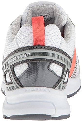 Reebok Reebok Runner MT Synthétique Chaussure de Course Wht-Grey-Coral-Pwtr