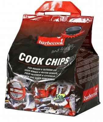 Barbecook Cook Chips 1KG, Noir, 8x0,5x2 cm