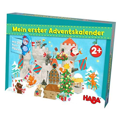 HABA Mein erster Adventskalender Ritterburg, für Kinder ab 2 Jahren