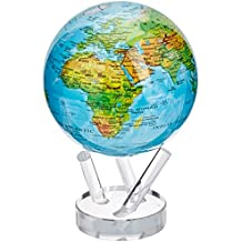6 Blue with Relief Map MOVA Globe by Mova
