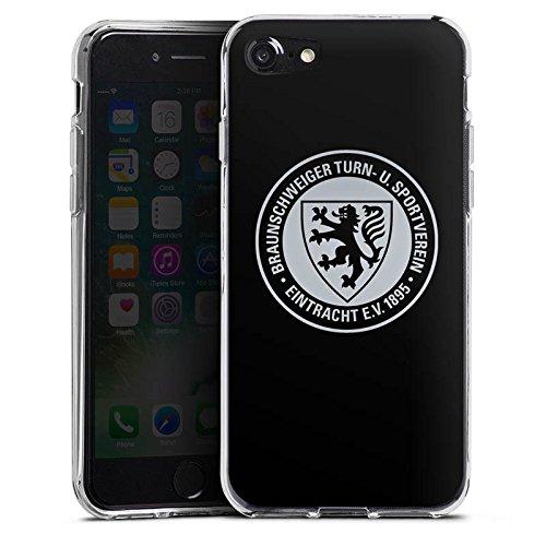 Apple iPhone 7 Hülle Case Handyhülle Eintracht Braunschweig Fanartikel BTSV Fußball Silikon Case transparent
