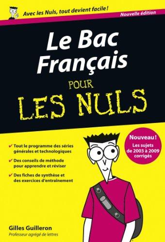 BAC FRANCAIS 2010 PR LES NULS