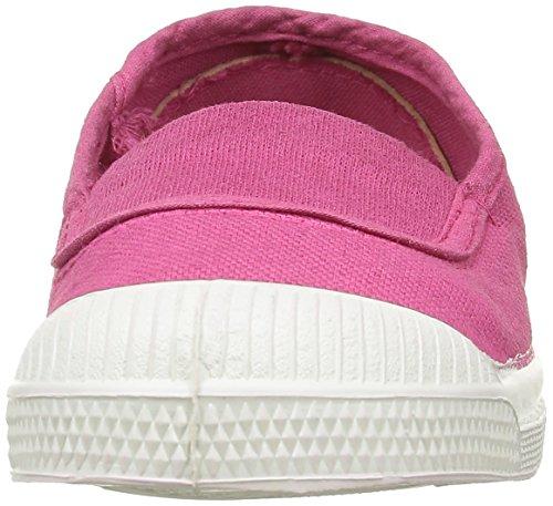 Bensimon Unisex-Kinder E15002c158 Sneaker Pink - Rose (468 Rose Vif)