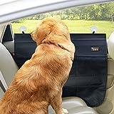 Yuena Care 2 Stück Haustier Auto Tür Schutz Abdeckungen für Hunde Waterproof Schwarz