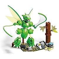 Mega Bloks Construx GCN19 Mega Construx Pokémon Scyther, Multicolour