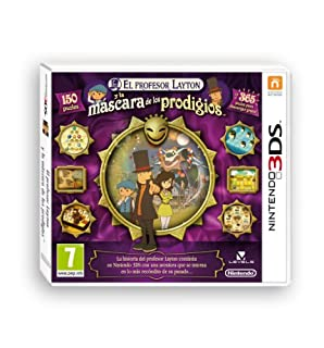 El Profesor Layton y la Máscara de los Prodigios (B0095FYTDU) | Amazon price tracker / tracking, Amazon price history charts, Amazon price watches, Amazon price drop alerts