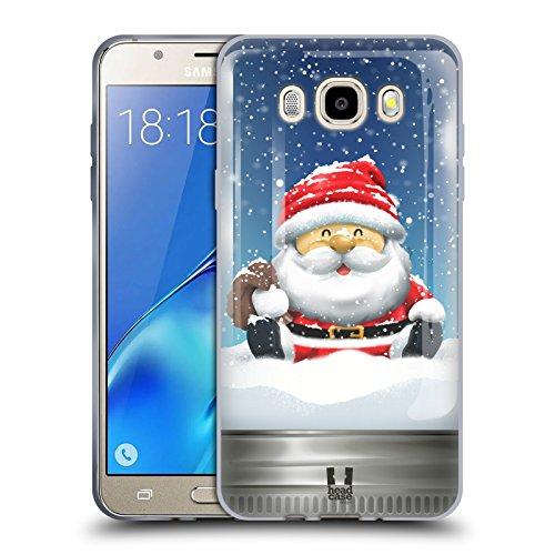 Head Case Designs Santa Weihnachten Im Einweckglas Soft Gel Hülle für Samsung Galaxy J5 (2016)
