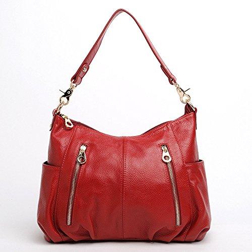 Chlln Die Neuen Sommer - Damen Tasche Messenger - Bag Umhängetasche Alle Treffer Trend Jujube red