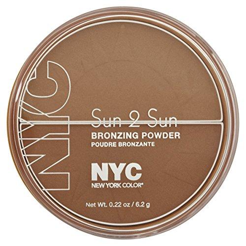 NYC Sun 2 Sun Bronzing Powder Terracotta Tan (Bronzer Cosmetics Nyc)
