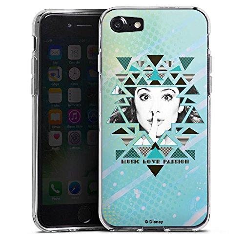 Apple iPhone X Silikon Hülle Case Schutzhülle Disney Violetta Fanartikel Merchandise Silikon Case transparent