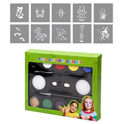 bmc-infantil-fiesta-actividad-divertido-rostro-cuerpo-piel-no-toxico-pintar-y-plantilla-kit-sets-pin