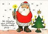 Janosch Adventskalenderkarte Eine fröhliche Weihnachtszeit