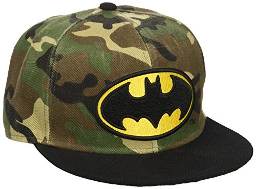 Batman Bat Logo Camouflage Style Snapback Hat Cap DC Comics