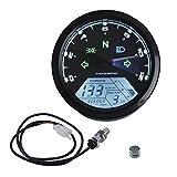 Gazechimp 12000 Rpm LCD Digitalen Motorrad Tachometer Drehzahlmesser 1-4 Zylinder