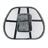 RoadRoma Accesso sedie Posteriore di Massaggio della Maglia di Sostegno Lombare arieggia Il Rilievo della sede di Automobile Ufficio