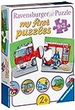 Ravensburger - 07332 - Mes Premiers Puzzles - Les Véhicules - 9 x 2 Pièces