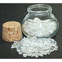 budawi® - Bergkristall Edelsteine im Dekoglas ca. 55g, echte Edelsteine getrommelt Bergkristall preisvergleich bei billige-tabletten.eu