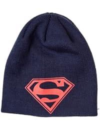 Superman - Logo Mütze Hut Hat Beanie Original & Lizensiert