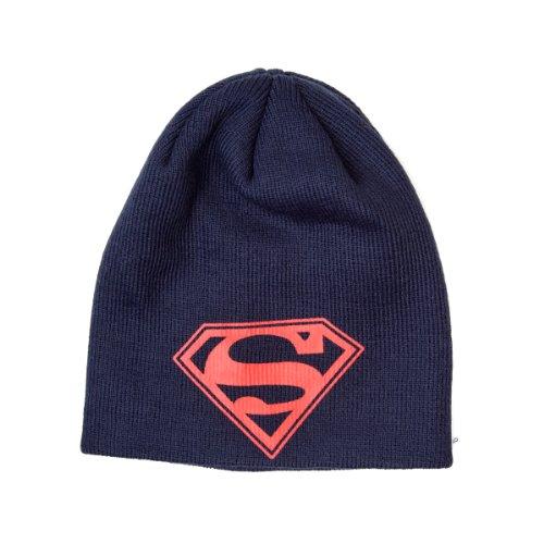 Superman - Logo Mütze Hut Hat Beanie Original & (Collector Kostüme Superman)