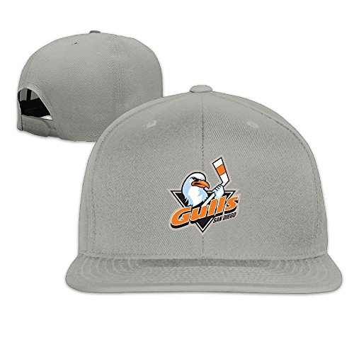 hittings-adult-san-diego-gulls-fantastic-snapback-adjustable-hats-ash